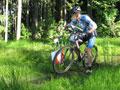 Meloun - MTBO biker